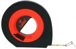 Long steel tape measure with yellow coating 3/8 x 100 Crescent
