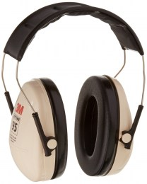 Noise Reduction Over-the-Head Earmuffs - 3M Hearing Protection