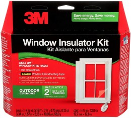 Window Insulation-Interior 3M